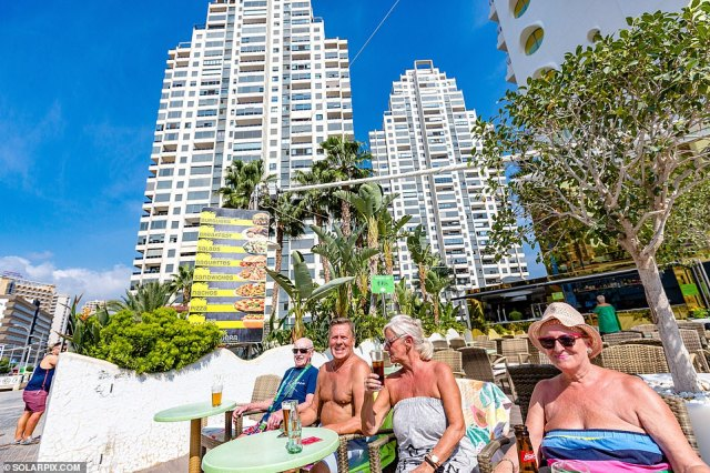 The resort town is expecting a surge in visits from British holidaymakers in the wake of the relaxation of travel rules which came into force today