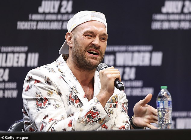 Fury will grow by adding another 20 lbs to his trilogy fight with Deontay Wilder.