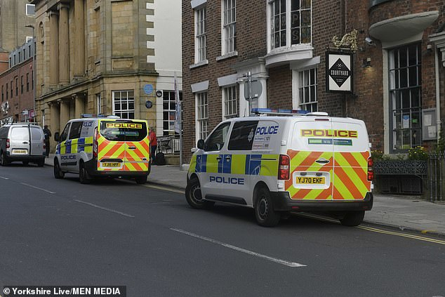 A large emergency response was on scene and a huge cordon was put in place by officers