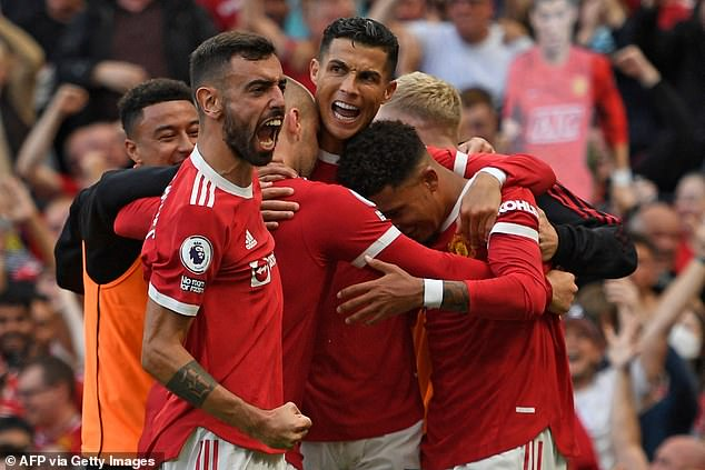 Bitter rivals Man United made £1.21bn.  followed them with the hefty price of
