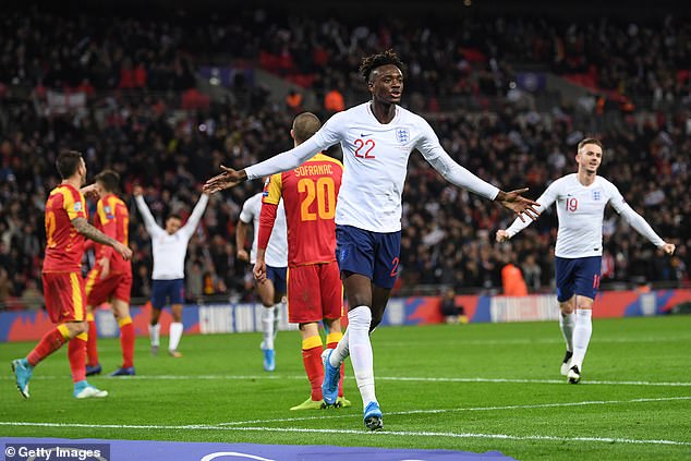 Coming back against Montenegro in November 2019, Abraham has a previous England goal