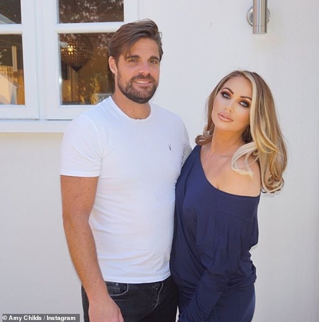 All over: Amy had been dating Tim for over a year and the pair dramatically split over the summer