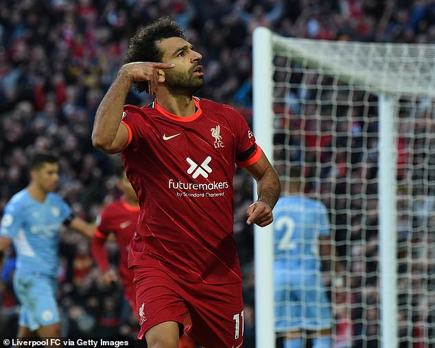 Liverpool and Egypt star Mohamed Salah is the form player in the Premier League right now