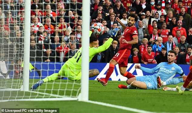 The 29-year-old scored a sensational goal against Manchester City on Sunday evening