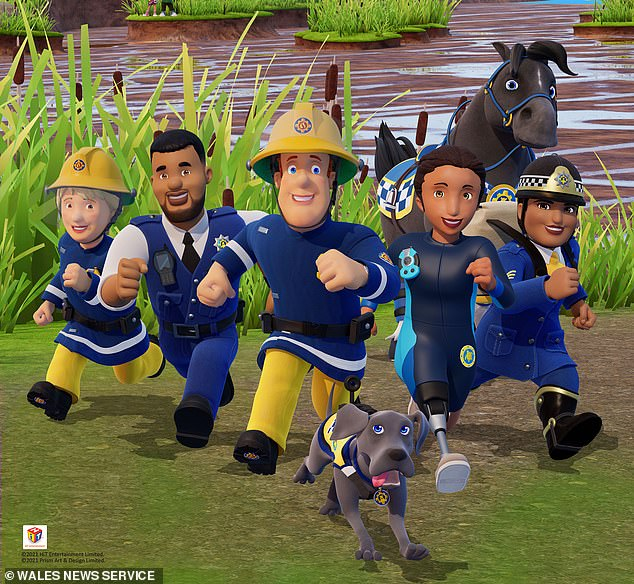Fireman Sam has entertained children – and promoted a fire safety message – for 34 years and the show's YouTube channel has had more than 9.6billion views worldwide.