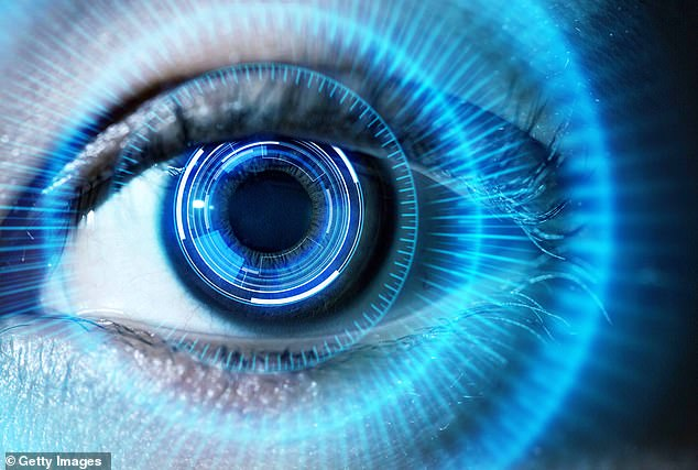 Scientists have developed a 'pellet' implant that is injected into the eye to prevent cataract formation – and may even reverse the development of existing cataracts without surgery (stock image)