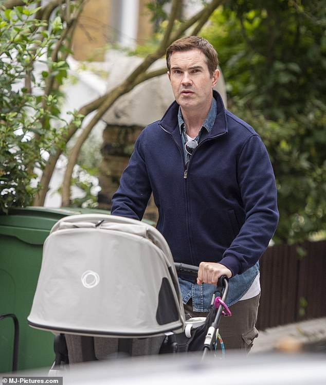 Jimmy Carr reveals he has named his child Rockefeller