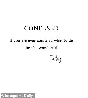 Thoughts: Confused Reflected: 'If You're Ever Confused What To Do Be Wonderful'