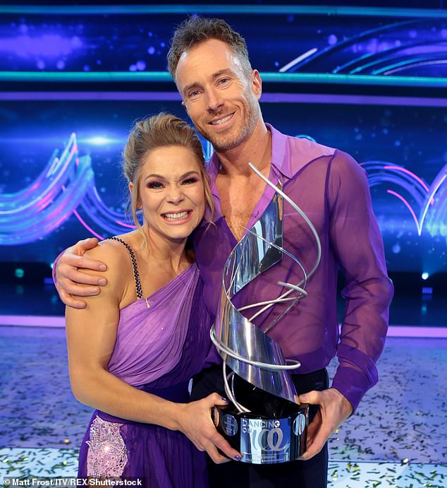 'He wants to go all the way': Brendan, who won Strictly's debut series in 2004 with Natasha Kaplinsky, is hoping to follow in James Jordan's footsteps by dominating the competition (pictured in 2019)