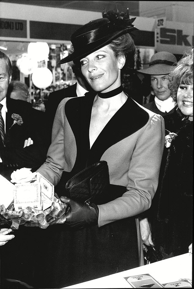 Mary Christine, pictured in 1983, was already once married to English banker Thomas Trubridge before she tied the knot with Prince Michael of Kent.