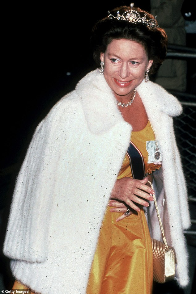 Princess Margaret, who died in 2002, refused to speak to Princess Michael of Kent because she was a Roman Catholic and divorced, a royal commentator claimed in a new royal documentary (Pictured: The Princess in London 1990 Margaret)