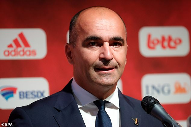 Roberto Martinez is one of the top contenders to manage Barcelona but was coy on the job