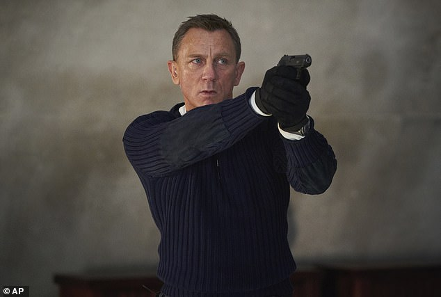 Kura: The 53-year-old actor appeared on Good Morning America on Tuesday to discuss his last outing as Bond as No Time to Die released in the US later this week.