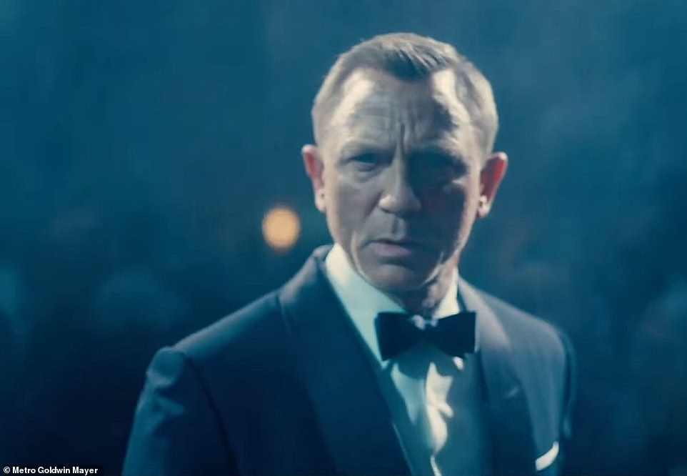 Record:Daniel Craig's final outing as James Bond beat both Skyfall and Spectre which both made £20million at the British box office in their first three days