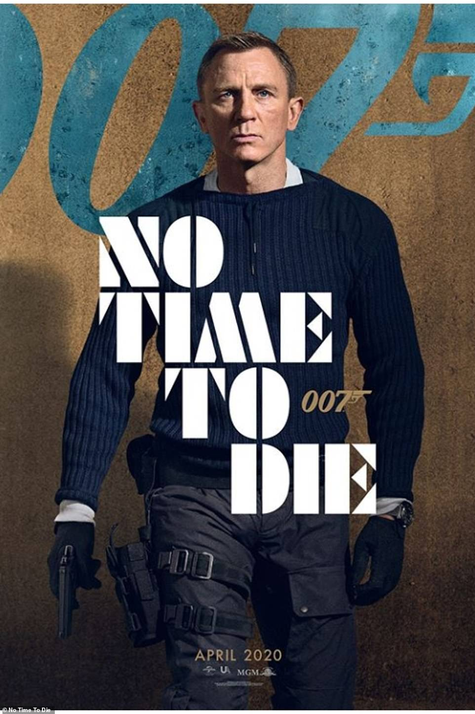 Profits:Daniel Craig's final stint as 007 won't be released in the US until October 8, so it's likely to get another big boost then