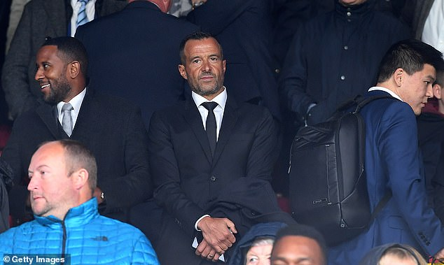 And Lineker says that Woodward was on the phone to Jorge Mendes while in his garden