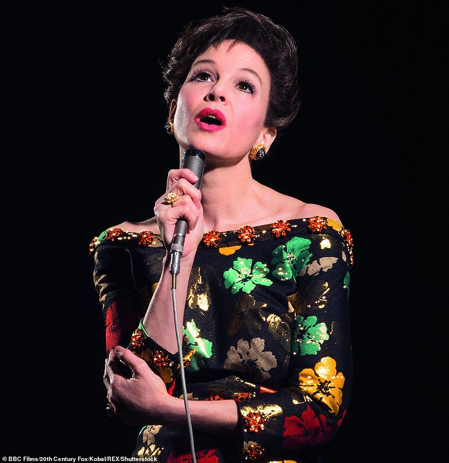What a comeback: Renee won her second Oscar playing Judy Garland in the biopic Judy