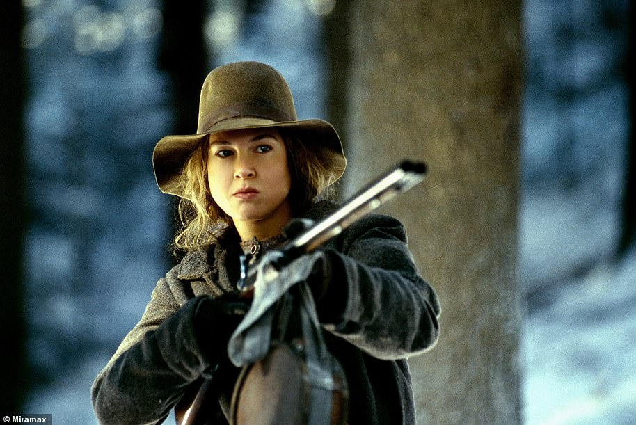 Another transformation: She played the dowdy Ruby Thewes in the epic drama Cold Mountain, that finally won her an Oscar for Best Supporting Actress in 2003