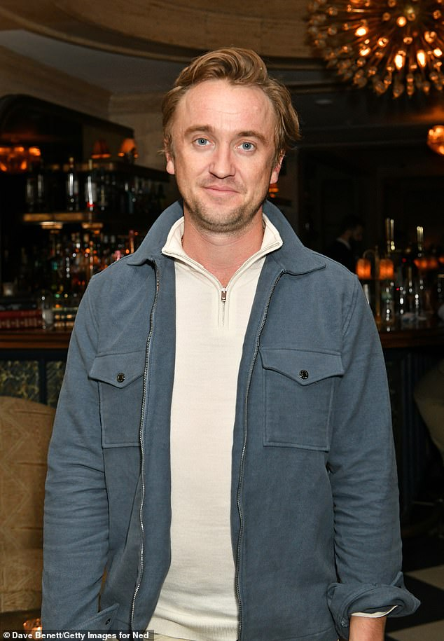 Looking Good: The Harry Potter star attending the launch of Michelin Star Chef Tom Sellers Residency at The Parlor in London's Nedds Club