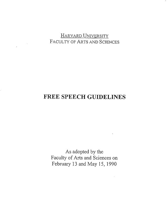 , Harvard's faculty of arts and sciences launch probe into free speech guidelines, Nzuchi Times National News