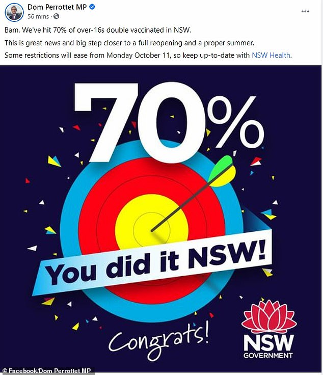 , Covid-19 NSW: State records 587 new Covid cases as 70 per cent vaccination rate reached, Nzuchi Times National News