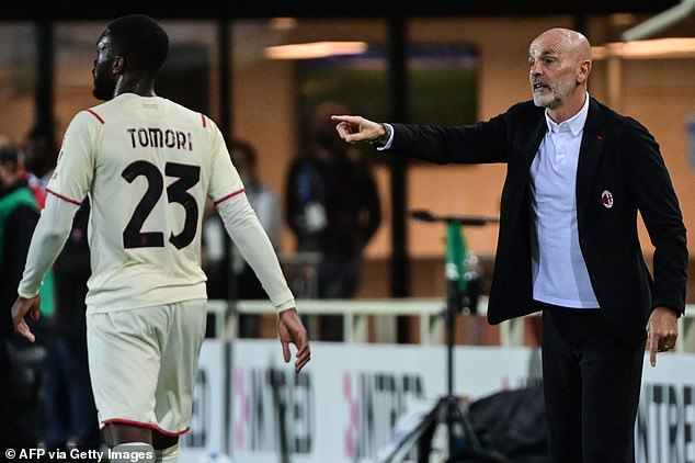Tomori has established himself as Stefano Pioli's first choice pick at centre-back for Milan