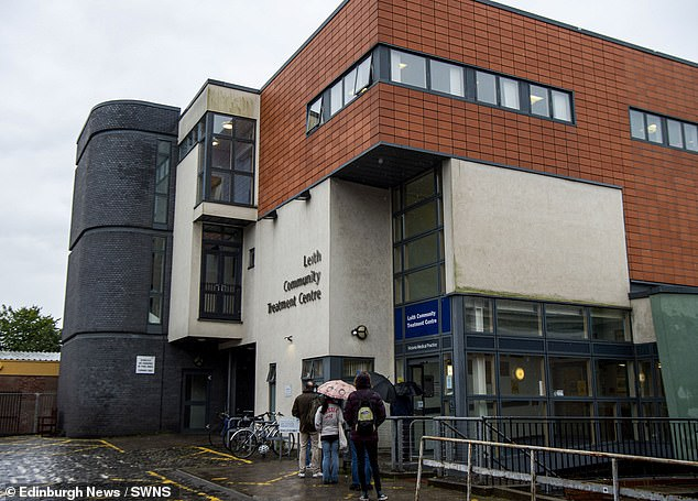 Staff at Edinburgh's Leith Community Treatment Center denied admission to at least ten people on Monday as the number of people increased following the introduction of the Vaccine Passport scheme.