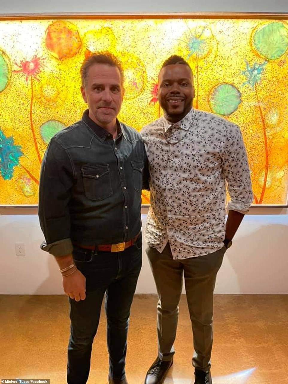 , Hunter Biden makes debut at his first art exhibition at LA's Milk Studios, Nzuchi Times National News