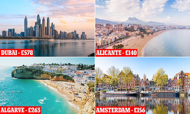 Families can go abroad this October for flights and accommodation for less than £140
