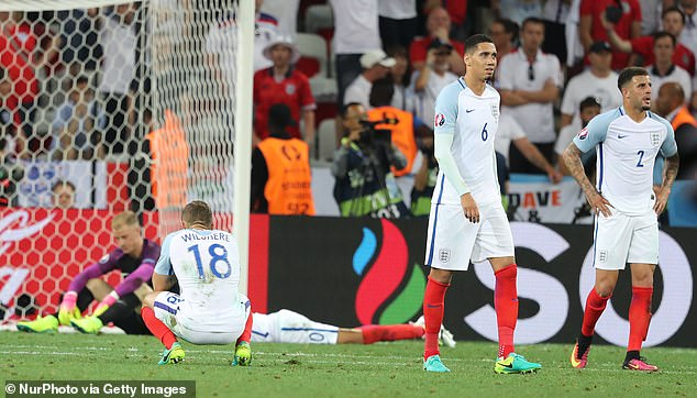 England were in a mess in 2016 having been humiliated by Iceland in defeat at the Euros