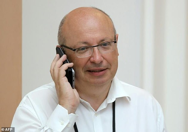 France recalled its envoy to Australia, Jean-Pierre Thebault (pictured) following Australia's announcement that it was scrapping its multibillion-dollar submarine contract with France
