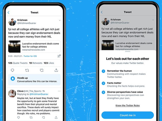 , Twitter is testing alert that warns you when you're about to wade into 'heated' conversation, The Today News USA
