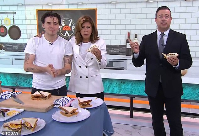 'Shameful': Others suggest Brooklyn should never have featured in a cooking segment - especially when so many chefs are struggling to make ends meet due to COVID