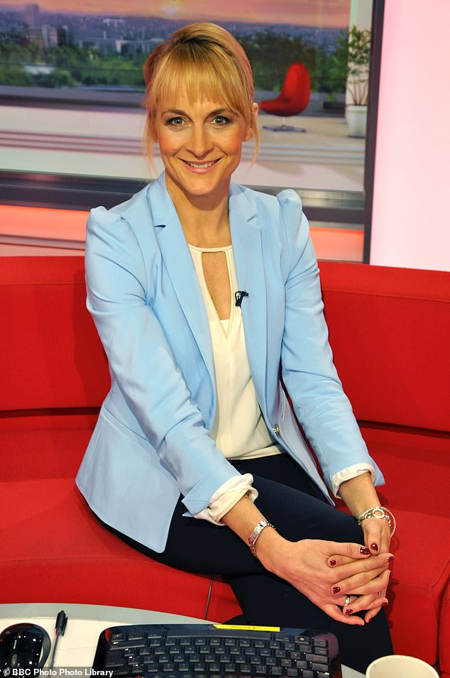 new work?  BBC Breakfast presenter Louise Minchin has reportedly been approached by the I'm A Celebrity boss about joining the show's line-up (pictured in 2014)