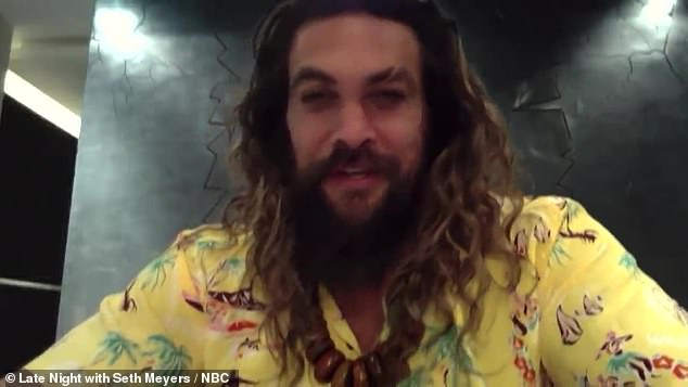 New co-stars and old: Jason Momoa joined his See co-star Dave Bautista on Late Night with Seth Meyers and also talked about his recent Instagram post with Emilia Clarke