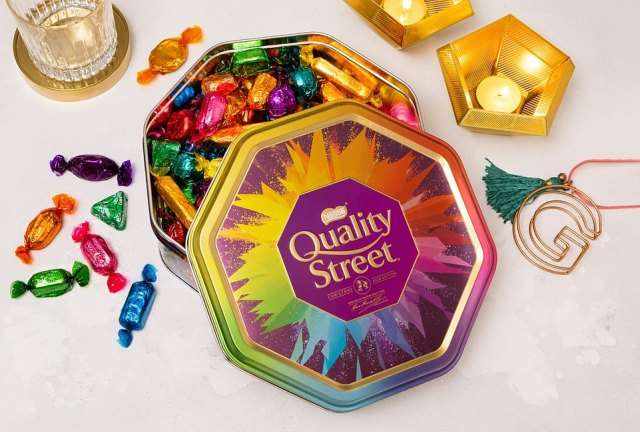 The maker of Quality Street has said it is 'working hard' to make sure the Christmas favourite is on shelves before December 25 after also being hit by the ongoing supply chain crisis which is threatening to detail the winter holiday for millions this year