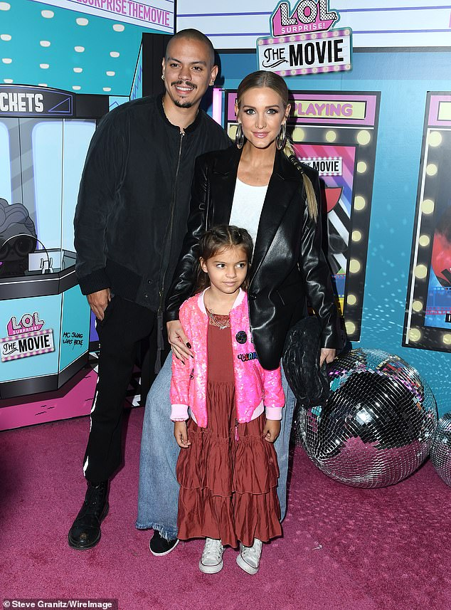 Still going strong! Also attending the L.O.L. Surprise! The Movie premiere were Ashlee Simpson, her second husband Evan Ross, and their six-year-old daughter Jagger Snow