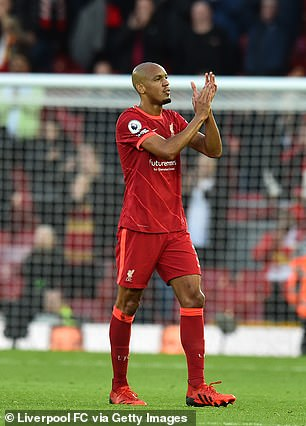 Liverpool midfielder Fabinho is among nine top-flight stars called up for the World Cup qualifiers