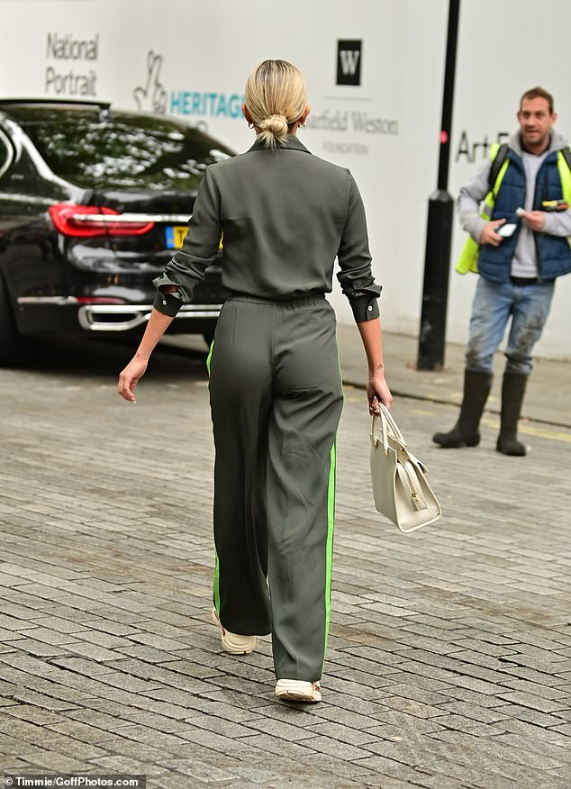 , Ashley Roberts nails casual chic as she makes a very up-beat exit from work at Heart FM, The Today News USA