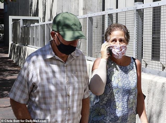 Joe Petito called Chirs and Roberta Laundrie, pictured, cowards for avoiding his family