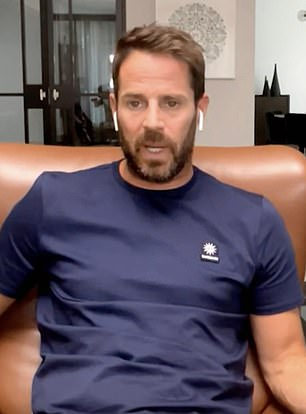 Jamie Redknapp has reflected on his 'terrifying' first training session with Liverpool