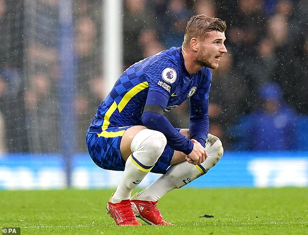 Timo Werner has admitted he is not 'satisfied' with his playing time at Chelsea this season