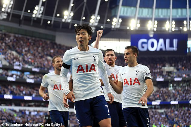 Team-mate Son Heung-min has now taken over as the club's No 1 star after penning a new deal