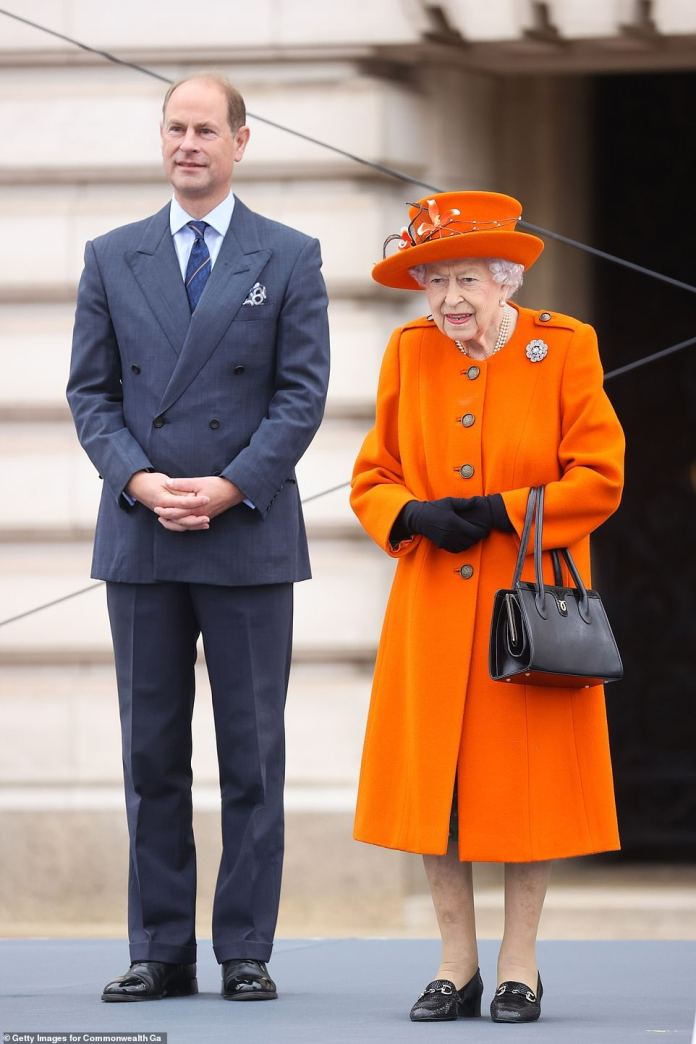 The Prince attended an event hosted by Edward at Buckingham Palace this morning in his first major engagement at the residence since the outbreak of COVID-19.