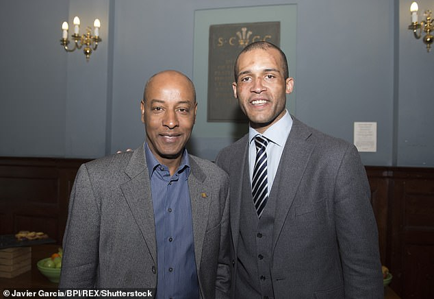 Molango is understood to be standing down from the Board, leaving the organisation in the hands of chairman Brendan Batson (left)