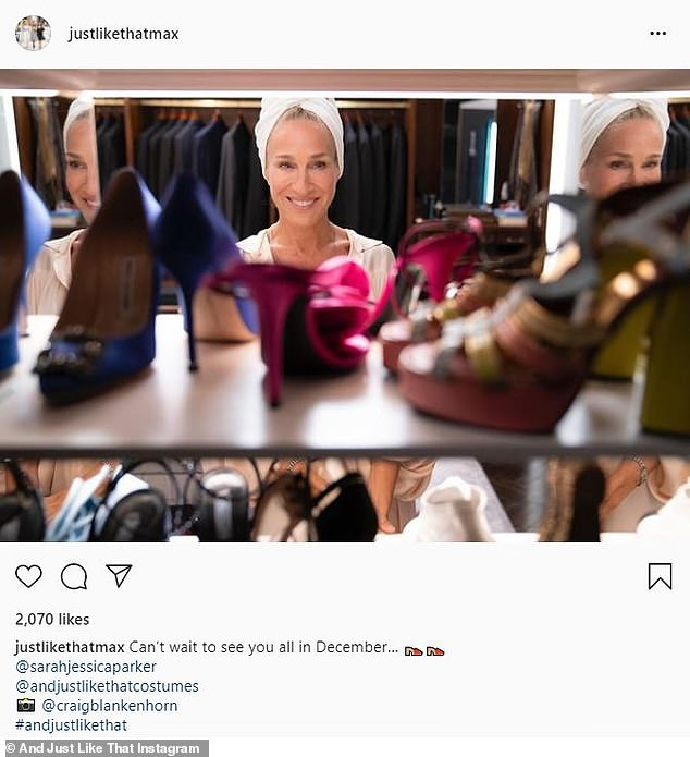 , Sarah Jessica Parker appears in a new promo photo for Sex and the City reboot And Just Like That, The Habari News New York