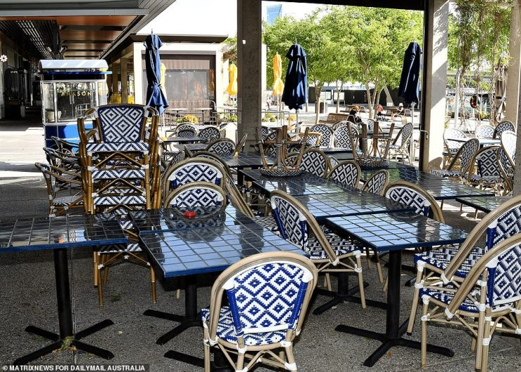 Businesses are hoping tables and chairs that have been empty for months will soon fill up again with satisfied customers