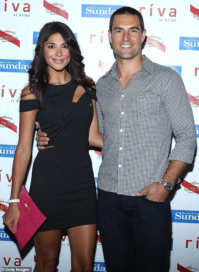 Pia's career took off in 2014, when she landed the role of Kat Chapman on Home and Away. The pair battled rumours their relationship was on the rocks soon after and announced they had split in October 2015. (Pictured 2015)