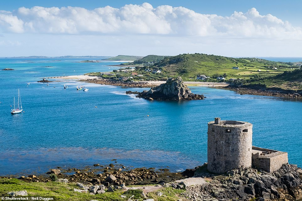 Cromwell Castle on Tresco in the Scilly Isles. Passengers on the 'Summer in the Isles' round-trip can visit Tresco during the one-week cruise