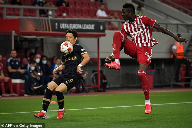 The Senegal centre-back has locked down a spot in the Olympiacos defence this season